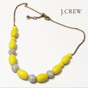 J. Crew Factory • Bead Crystal Pave Ball Necklace